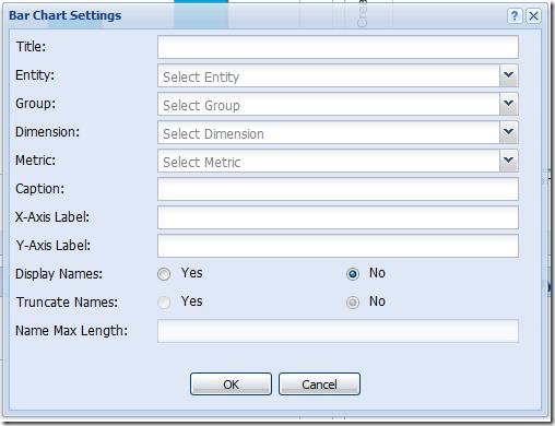 New SalesLogix Web SP3 Dashboard Bar Chart Definitions