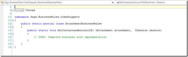 SalesLogix Attachment OnBeforeInsert Code shell