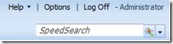 SalesLogix Speedsearch tool