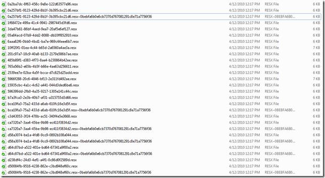 SalesLogix file system VFS