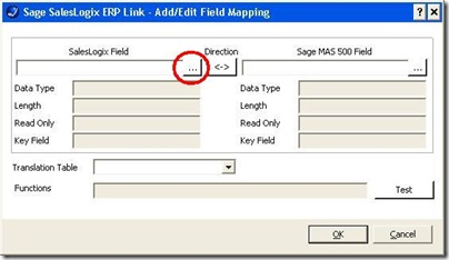 Entity Mapping add field map