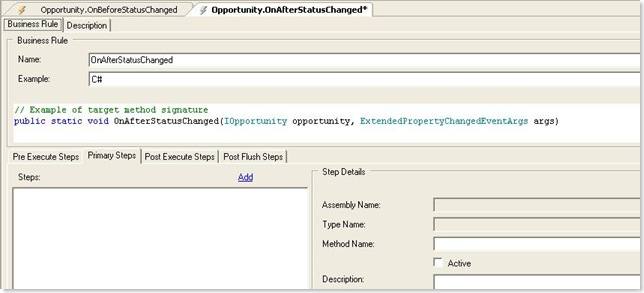 Adding a new SalesLogix Event to a Property 2