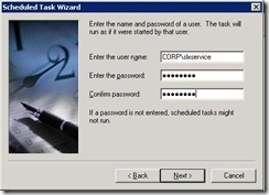 Sage ERP Link Sync Scheduled Task Wizard 6