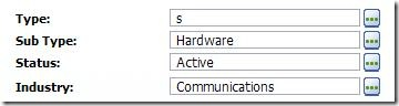 SalesLogix Picklist invalid after typing