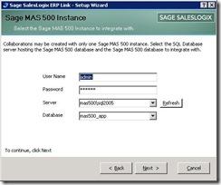 SalesLogix ERP Setup Wizard 3